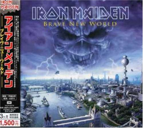 Iron maiden brave new world CD Covers