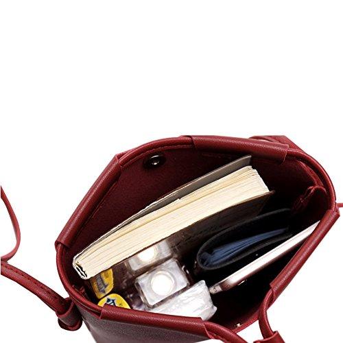 mujer Red Cuddty para Bolso hombro al ywqq4TaYO