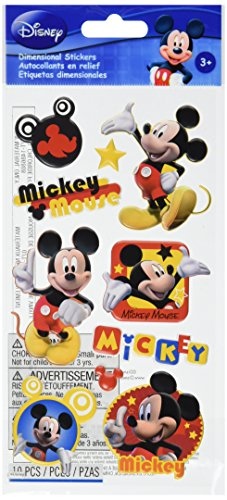 Disney Puffy Stickers-Mickey Mouse Ek Success Disney Mickey Mouse