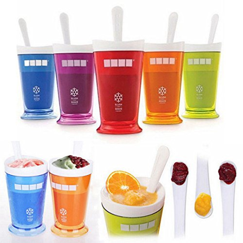 Bargain World DIY Smoothies Milkshake Cup Slush und schütteln Maker