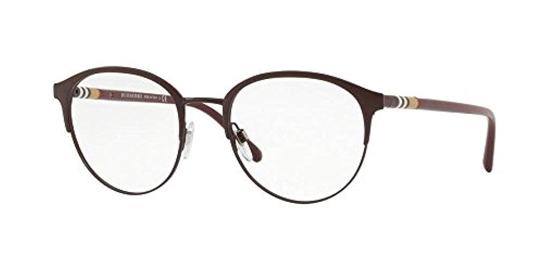 7029f1e33ae Burberry Men s BE1318 Eyeglasses Black Matte Black 51mm at Amazon Men s  Clothing store