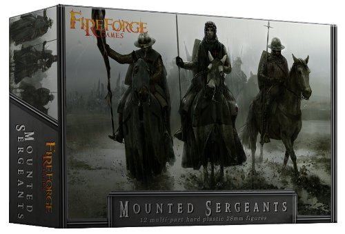 Mounted Sergeants - 28mm Hard Plastic figures by Fireforge Games by Fireforge Games