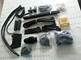 Vintage Lambretta GP DL SX TV LI Series FULL BODY Rubber Kit Complete - BLACK