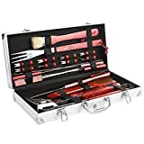 femor BBQ Grill Tools Set, 19-Piece Stainless Steel...