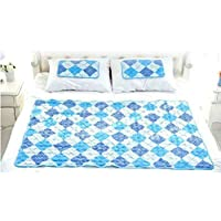 Hanil Cool Gel Mattress Bed Pad Cooling Topper for Summer (Double Size)
