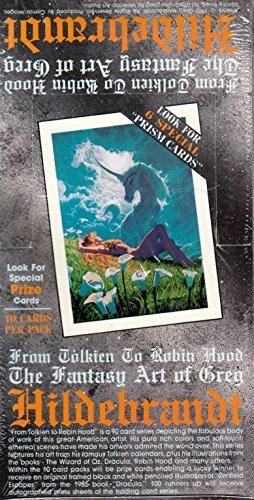 GREG HILDEBRANDT 1 1992 COMIC IMAGES FACTORY SEALED TRADING CARD BOX OF 48 PACKS (Comic Images Trading Card Box)