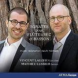 Sonatas for Recorder and Bassoon - Vivaldi, Telemann, Fasch, Boismortier & Chedevill