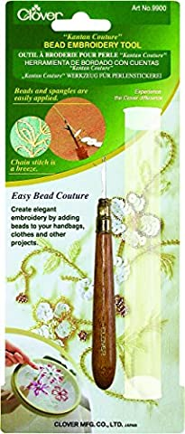 Clover Kantan Couture Bead Embroidery Tool- - Kantan Couture Bead Embroidery Tool
