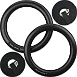 Gymnastic-Rings-and-Straps-HEAVY-DUTY-for-Cross-TrainingGymnasticsStrength-Fitness-Training-Best-Olympic-Home-Gym-Set-PC-Plastic-is-Stronger-than-Wood-Nordic-Lifting