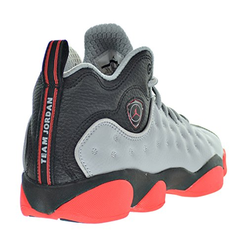33d4b6dd439e01 Jordan Jumpman Team II BG Big Kid s Shoes Wolf Grey Infrared 23 Black 820273 -016 (7 M US)