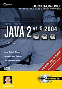 Beginner's Java 2 v1.5 2004 on DVD
