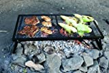 Camp Chef Lumberjack Over The Fire Grill Plated Steel, 18 x 36 Inches