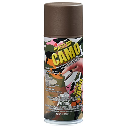 Plasti Dip Performix (11216-6-6PK) Brown Camo Spray - 11 oz. Aerosol, (Pack of 6) by Plasti Dip