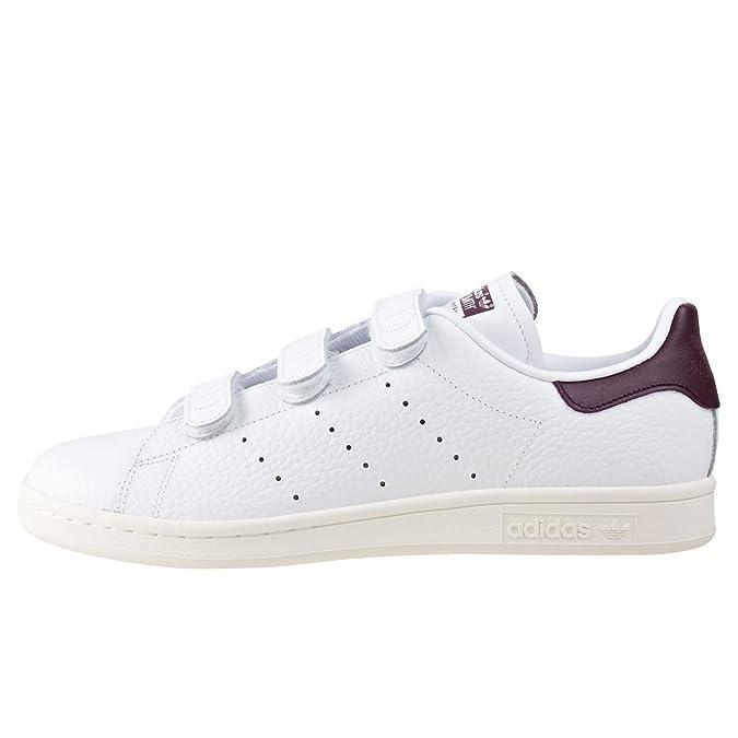 adidas Stan Smith W, Chaussures de Gymnastique Femme, Blanc (FTWR White/FTWR White/Gold Met. FTWR White/FTWR White/Gold Met.), 38 EU
