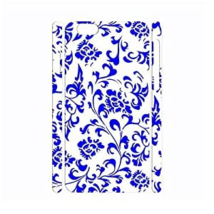 Picturesque Chinese Style White and Blue Porcelain Pattern Handmade Hard Plastic Phone Accessories Cover for Diy For Mousepad 9*7.5Inch