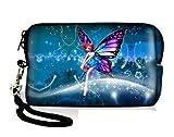 New Arrival Beautiful Fairy Design Digital Camera Case Bag Pouch +Strap Fr Sony Samsung Nikon Canon Kodak,Samsung Bundle ST76 WB150F DV300F,Nikon COOLPIX P300, S9100, S3100,AW100