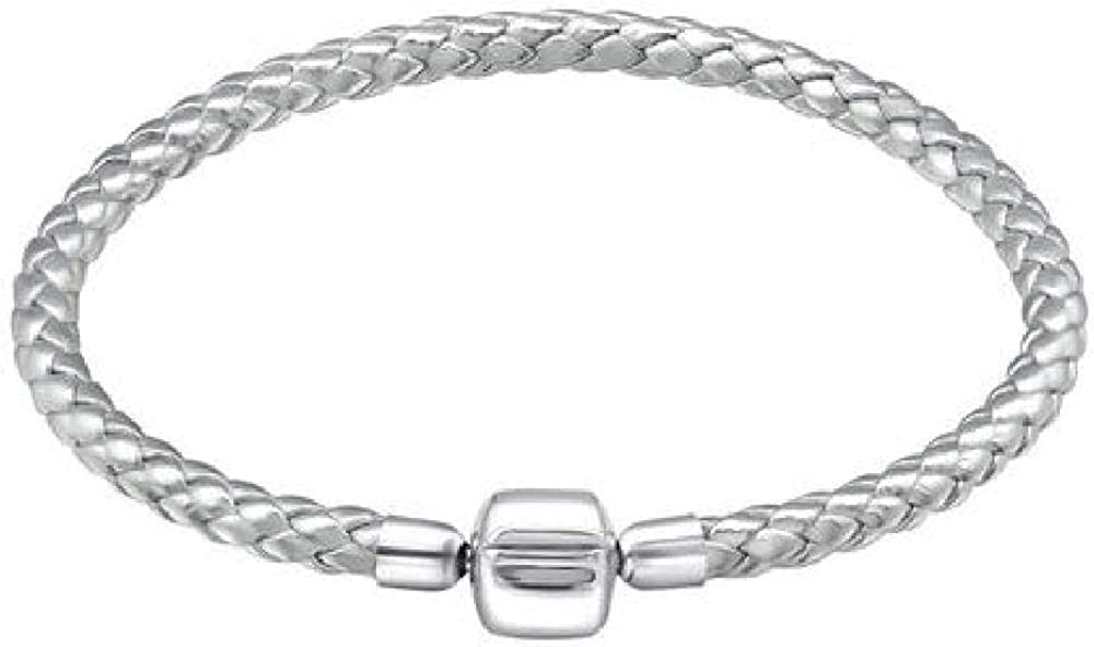 bracelet pandora cuir gris