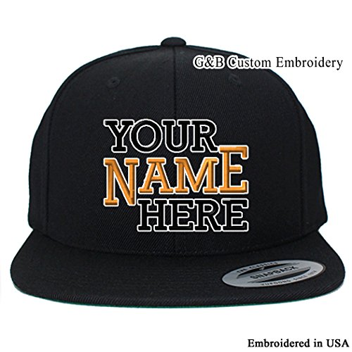 62f79a1f5c0 Yupoong Custom Hat. 6089M Snapback. Embroidered. Place Your Own Text or  Company Name