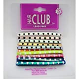 10Pk Star Print Elastic Band 48 pcs sku# 893937MA