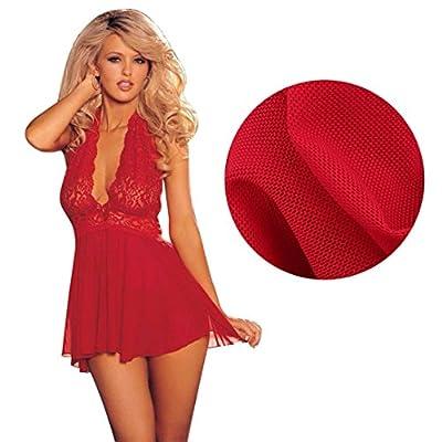 Wensltd Clearance! Lady Sexy Lingerie Corset+G-string Sleepwear