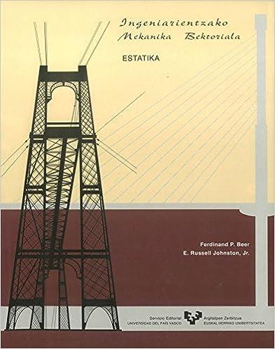 Book INGENIARIENTZAKO MEKANIKA BEKTORIALA: ESTATIKA