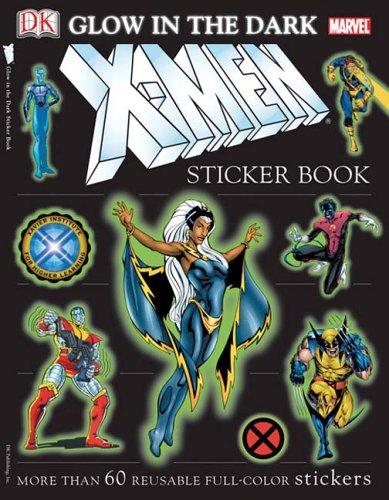 Glow-in-the-Dark X-Men (Ultimate Sticker Books)