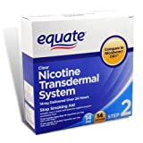 Best USA Nicotine Patches - Equate Nicotine Transdermal System Step 2, 14mg Clea Review