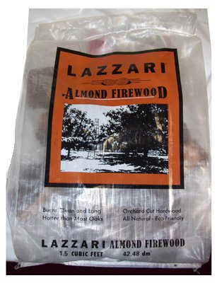 Lazzari Fuel 0 75997 00607 6 1.5 CUFT44; Almond Firewood by Lazzari Fuel