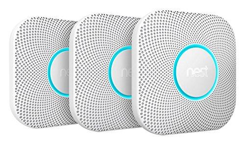 Nest Protect 2. Generation Rauch- und CO-Melder S3000BWDE