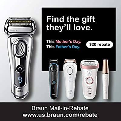 Braun Series 5 Men's Electric Foil Shaver with Wet & Dry Integrated Precision Trimmer & Rechargeable and Cordless Razor with Clean&Charge Station and Travel Case