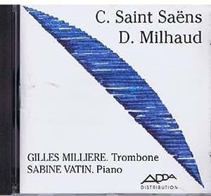 C.SAINT SAËNS - D.MILHAUD