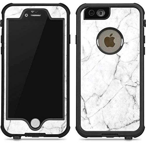 pretty nice c6e79 417e7 Amazon.com: Skinit White Marble iPhone 6/6s Waterproof Case ...