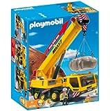 Playmobil - 4036 - Jeu de construction - Grue mobile géante