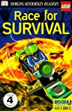 DK LEGO Readers: Race for Survival (Level 4: Proficient Readers)
