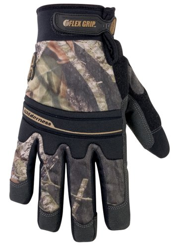 Walter Cotton Gloves (CLC Sportsman Mossy Oak M173X Wilderness Gloves - Size X)