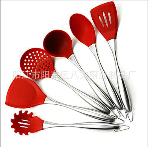 Price comparison product image Hitommy Stainless Steel Handle Silicone Shovel Nonstick Silicone Shovel Silicone