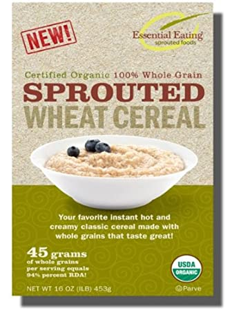 Essential Eating SPROUTED Whole Wheat Cereal