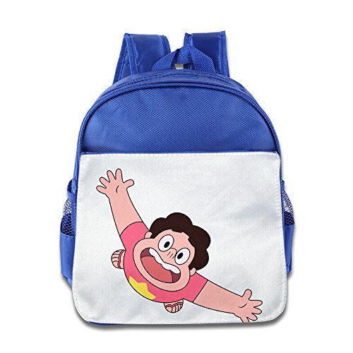 XJBD Custom Personalized Steven Universe Kids School Bagpack Bag For 1-6 Years Old RoyalBlue