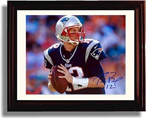 Framed Tom Brady