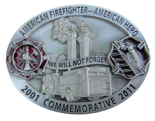 2011 American Firefighter commemorative Novelty Belt Buckle