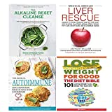 img - for Alkaline Reset Cleanse [Hardcover], Medical Medium Liver Rescue [Hardcover], Medical Autoimmune, Lose Weight For Good Diet Bible 4 Books Collection Set. book / textbook / text book