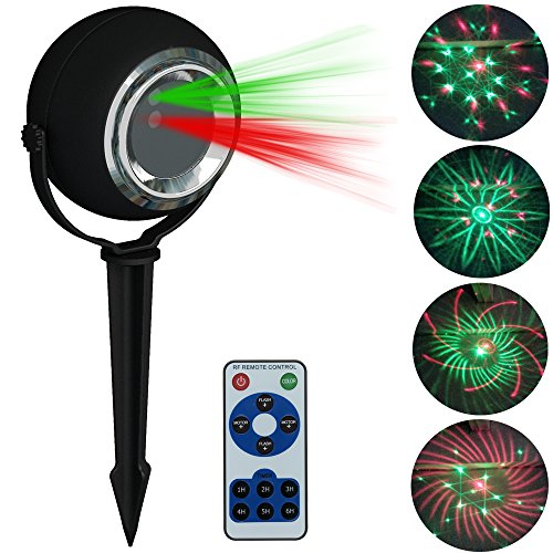 Outdoor Laser Twinkle Lights - 8
