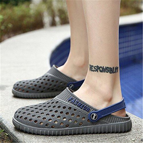 Impermeabili Antiscivolo da 25 da cm Sandalo 5 da e Pantaloncini Uomo Spiaggia Acaroline Uomo Nero 27 YwUAq