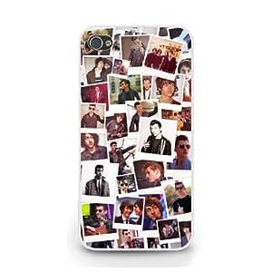 Alex Turner Polaroid iPhone 5c Case Blanco