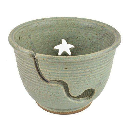 The Potters, LTD Yarn Bowl, Soft Green