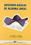 Lecciones básicas de álgebra lineal