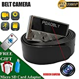 Shadow H8 Camaras Espias-Mini Camera-Spy Camera Mini-Hidden Camera-Full HD 1080P-Motion Detection-Loop Video-Remote Control Easy Operation-Continuous Work up to 70 Minut-Length The Belt is 1.2m