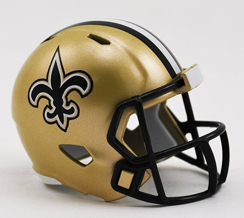 New Orleans Saints Riddell Speed Pocket Pro Football Helmet New in package