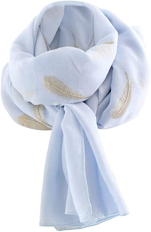 Baijiaye Elegante Chals Para Mujer Suave Bufanda Mantón Para ...
