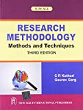 img - for Research Methodology: Methods and Techniques (English, Spanish, French, Italian, German, Japanese, Chinese, Hindi and Korean Edition) book / textbook / text book